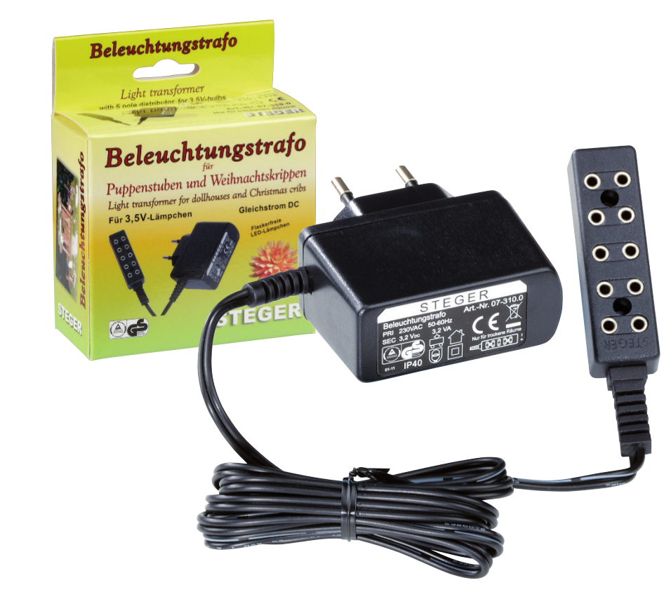 Beleuchtungstrafo auch LED geeignet
